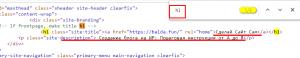 Структура заголовков на сайте