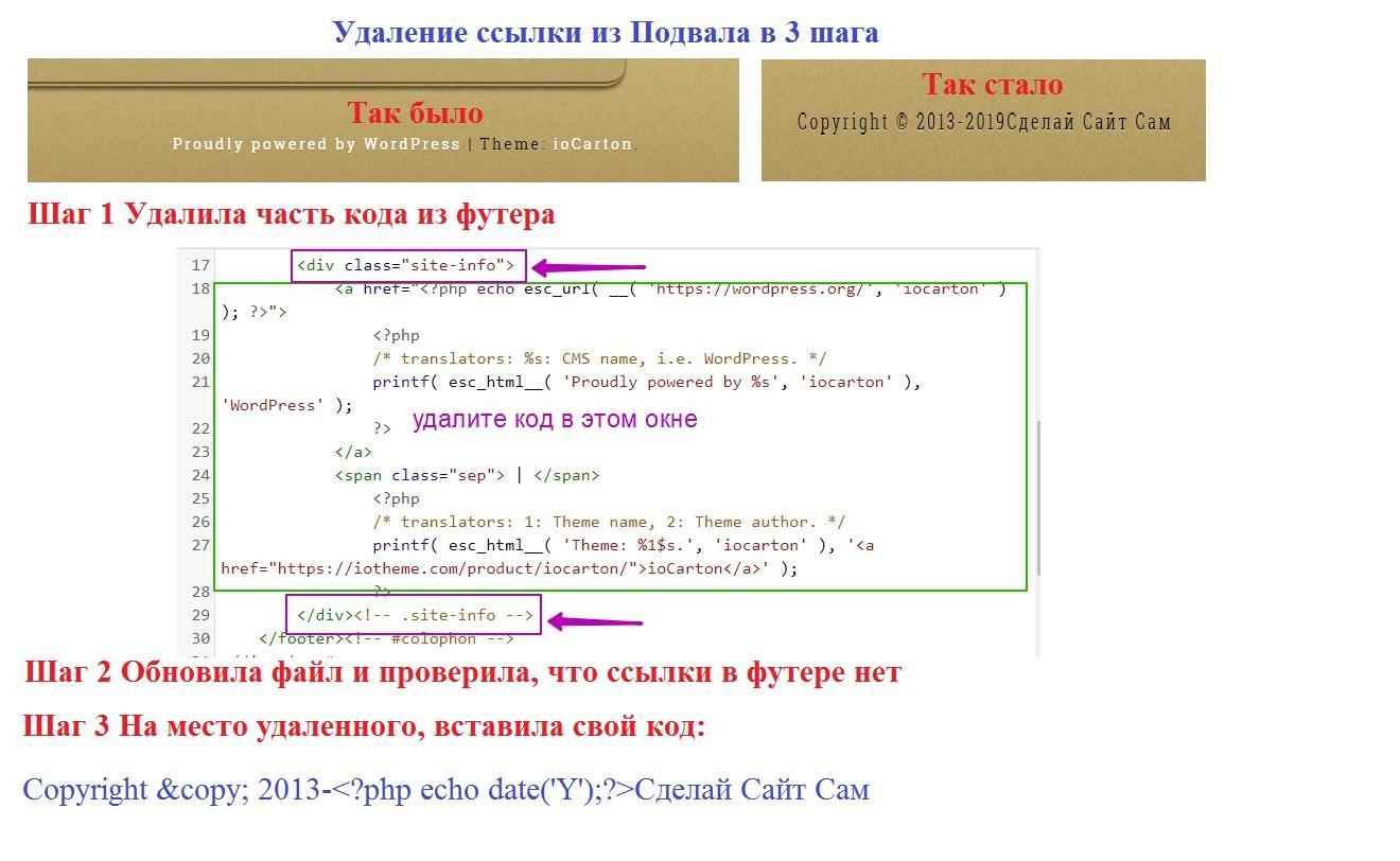 Как быстро сделать кнопку ссылкой на странице сайта wordpres